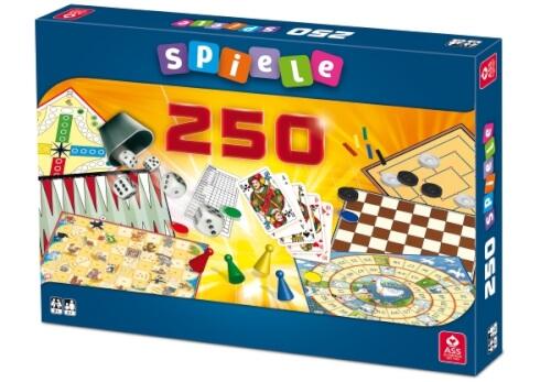 ASS Spielesammlung mit 250 Spielemöglichkeiten