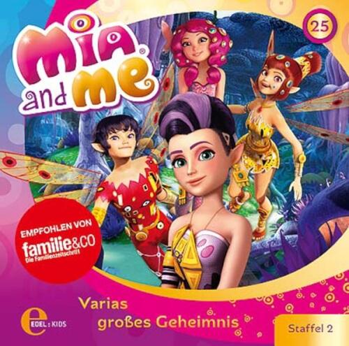 CD Mia and me 25