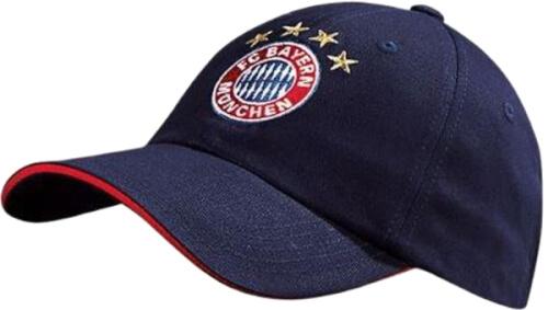 FC Bayern Baseballcap Logo navy Kids
