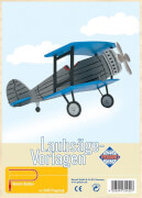 PEBARO Laubsägevorlage Flugzeug