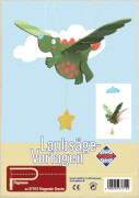 PEBARO Laubsägevorlage fliegender Drache - Mobile