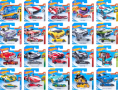 Mattel Hot Wheels Serie 1:64, sortiert