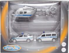 Speedzone D/C Helikopter und Fahrzeug Set, Freilauf