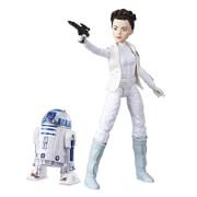 Hasbro C1629ES0 LEIA and R2D2 Actionfiguren, ab 4 Jahren