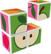 Geomag Magiccube (1+) - Fruit, 7-teilig, Kunststoff