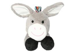 ZAZU DON der Esel Kuscheltier mit Herzschlagsimulation