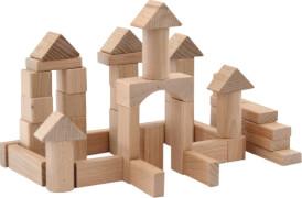 SpielMaus Holz Naturbausteine, 25 mm
