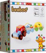 Beeboo Nachziehtraktor mit 2 Anhänger