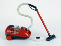 Theo Klein 6719 - Vileda Staubsauger, Spielzeug, ca. 29x15x17 cm, ab 3 Jahren