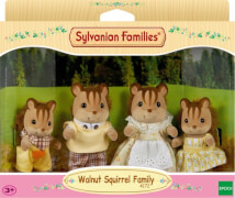 Sylvanian Families  4172 Walnuss Eichhörnchen: Familie Knacks