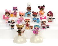 MGA L.O.L. Surprise Tots Ball Doll Asst in PDQ Tray Wave 2