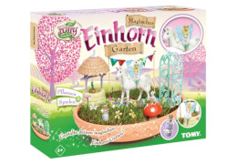TOMY, My Fairy Garden, Magischer Einhorn Garten (mit Samen)