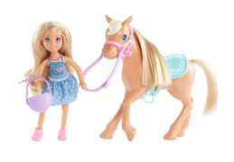 Mattel Barbie - Chelsea und Pony