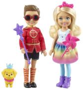Mattel FRB14 Barbie Dreamtopia Chelsea und Prinz Otto Puppenset
