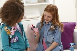 Hasbro E0135EU4 Littlest Pet Shop Klammertierchen aus Plüsch