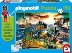 Schmidt Spiele Pirateninsel, 150 Teile , Kinderpuzzle