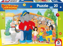 Schmidt Spiele Zooausflug, 20 Teile, Kinderpuzzle Benjamin