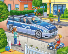 HABA - Puzzles Polizei, Feuerwehr & Co., ab 3 Jahren