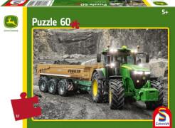Schmidt Spiele Puzzle John Deere Traktor 7310R, 60 Teile