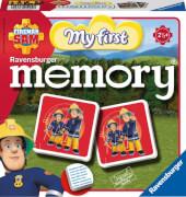 Ravensburger 212040  Feuerwehrmann Sam My first memory®, Kinderspiel