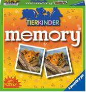 Ravensburger 212750 Tierkinder memory®, Kinderspiel