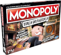 Hasbro E1871100 Monopoly Mogeln und Mauscheln, für 2-6 Spieler, ab 8 Jahren
