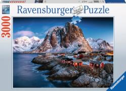 Ravensburger 170814 Puzzle Hamnoy, Lofoten 3000 Teile