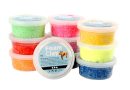 Foam Clay® Basic-Set 10 x 35 Gramm