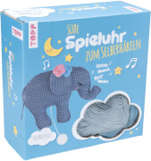 Häkelset Spieluhr Elefant