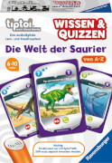 Ravensburger 008421 tiptoi® Wissen&Quizzen: Welt der Saurie