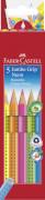 Faber-Castell 5er Farbstiftetui Jumbo Grip Neon