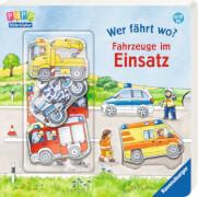 Ravensburger 43616 Bilderbuch: Wer fährt wo? Fahrzeuge im Einsatz