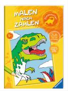 Ravensburger 55861 Malen nach Zahlen: Dinosaurier