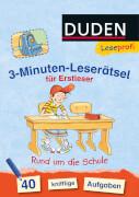Leseprofi  3-Minuten-Leserätsel für Erstleser: Rund um die Schule