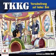 TKKG - Folge 204: Verschwörung auf hoher See (CD)