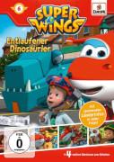 Super Wings 6: Entlaufener Dinosaurier (DVD)