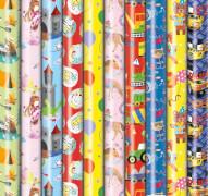 Geschenkröllchen Präsenta Bambini 2 m x 70 cm, Einschlagpapier