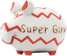 Sparschwein Super-Girl