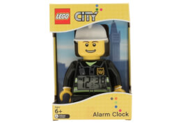 LEGO® City Fireman Minifigure Clock