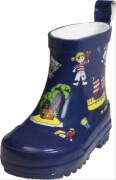 Playshoes Gummistiefel Allover-Pirateninsel, Gr. 18