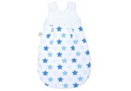 Schlafsack Sterne blue, Größe 70 cm